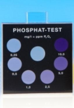 Phosphat - Farbvergleichsgerät Testoval