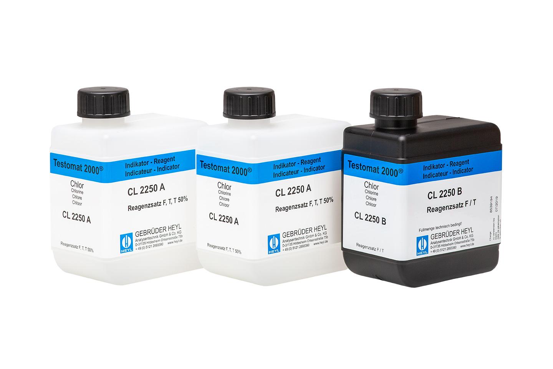 Testomat 2000® chlorine reagent set F (free chlorine)