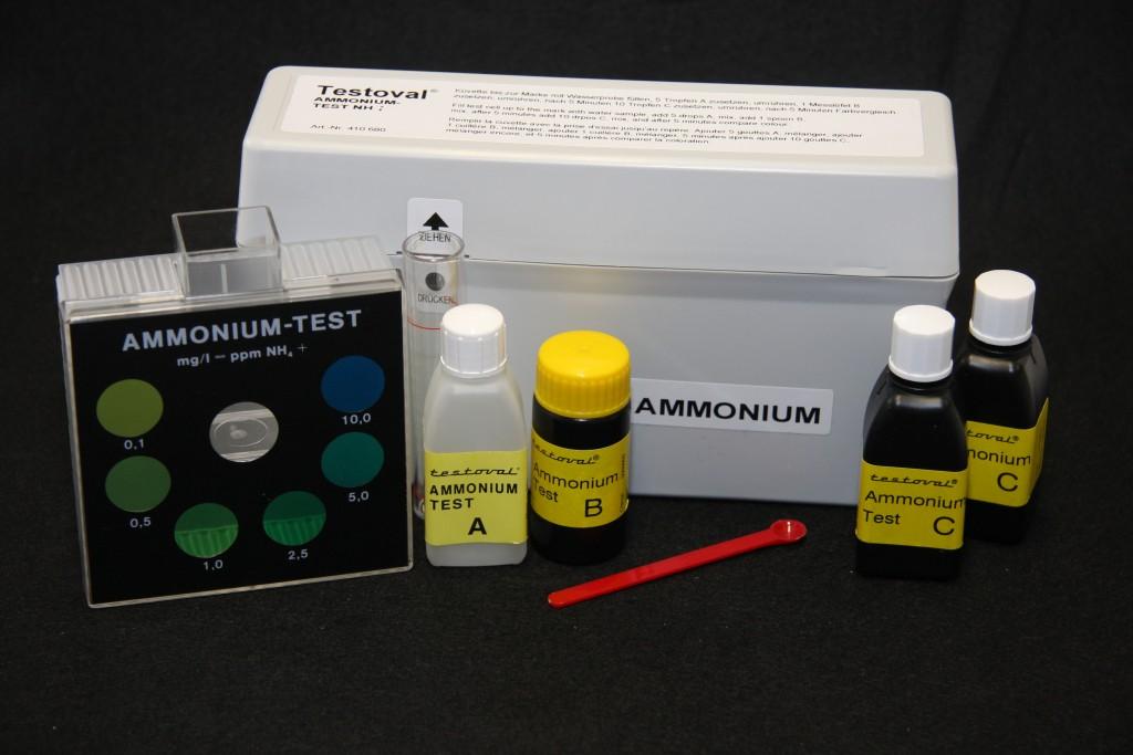 Testoval Ammonium Testbesteck