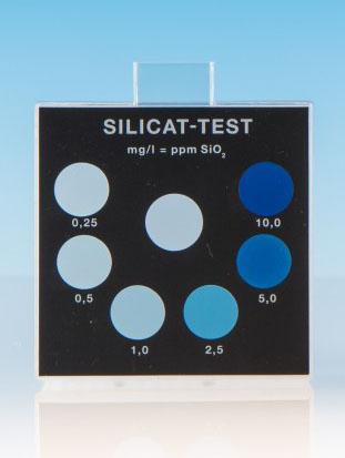 Silikat - Farbvergleichsgerät Testoval