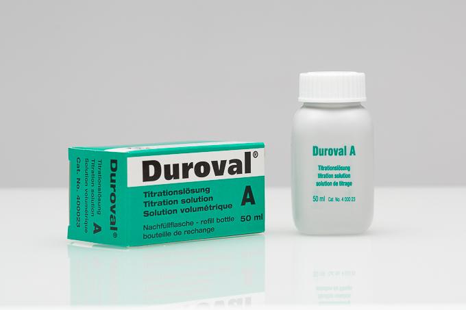 DUROVAL® A Titrationslösung Nachfüllpackung