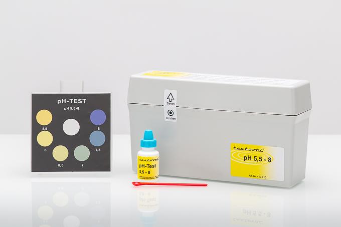 Testoval® pH-value 5.5-8 kit