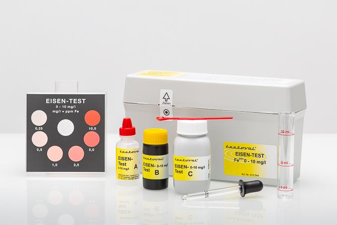Testoval® Iron II+III dissolved 0-10mg/l