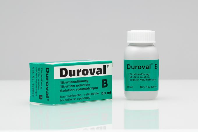 DUROVAL® B Titrationslösung Nachfüllpackung