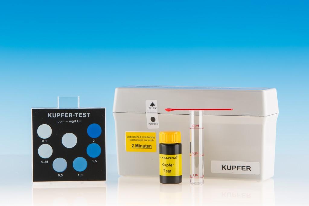 Testoval Kupfer Testbesteck