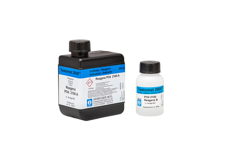Reagent set PO4 2100 A + B