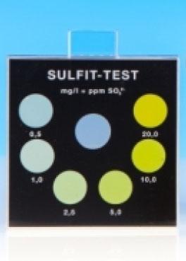 Sulfit - Farbvergleichsgerät Testoval