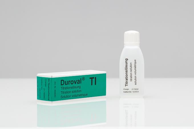 DUROVAL® TI Titrationslösung Nachfüllpackung