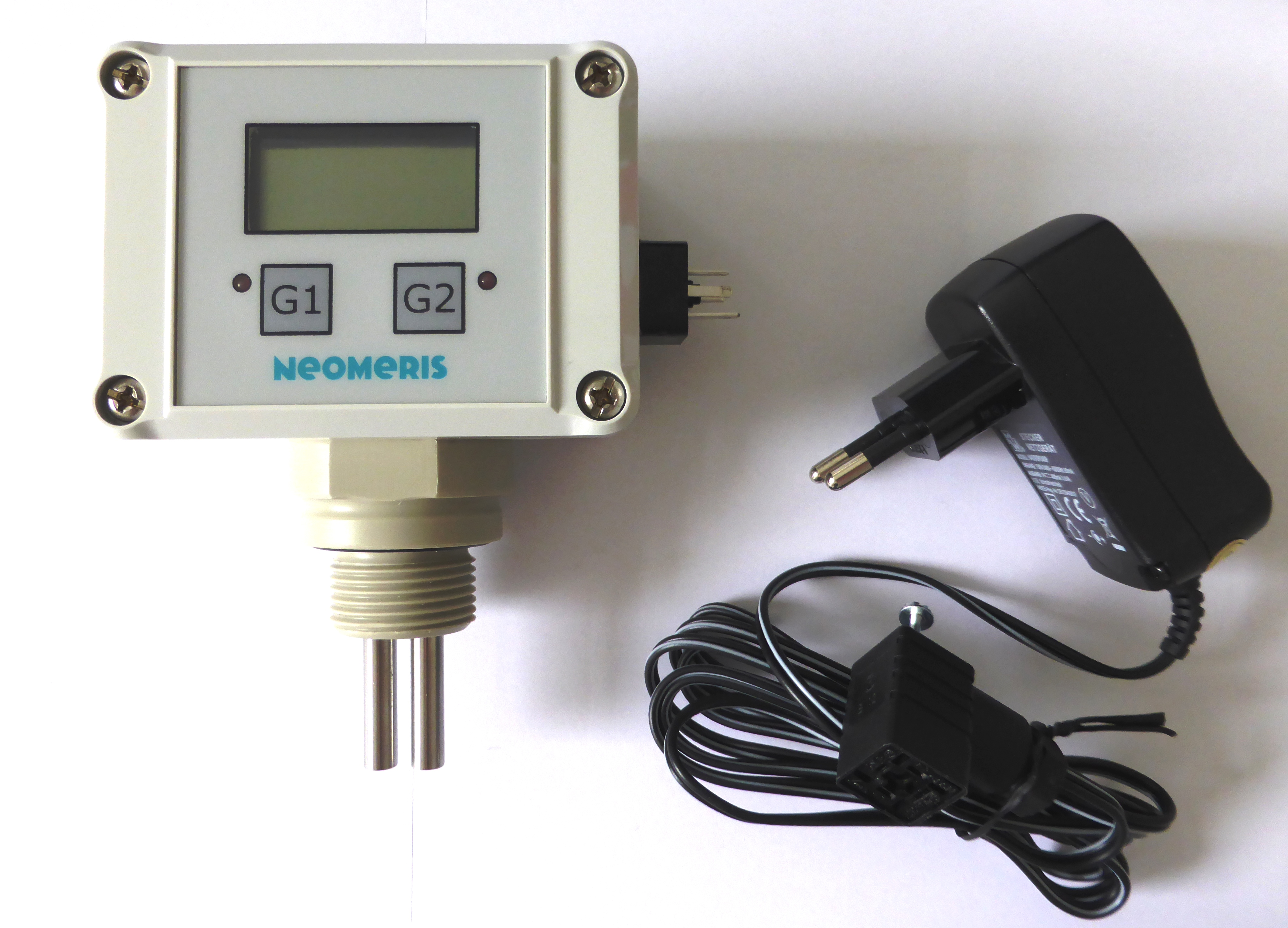 """N-LF, conductivity measuring instrument with integrated 3/4"""" screw-in measuring cell"""