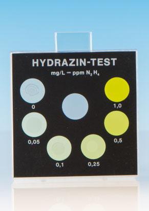 Hydrazin - Farbvergleichsgerät Testoval
