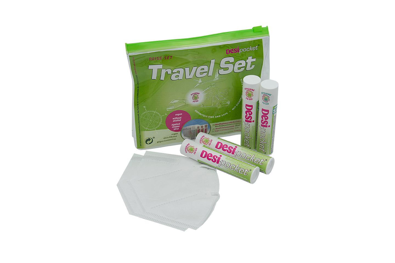 Desi-pocket Travel Set introduction- offer - vegan - without alcohol - against coronavirus