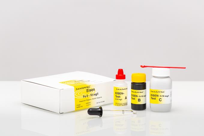 Testoval Eisen 0–10 mg/l-Reagenzien Nachfüllpackung