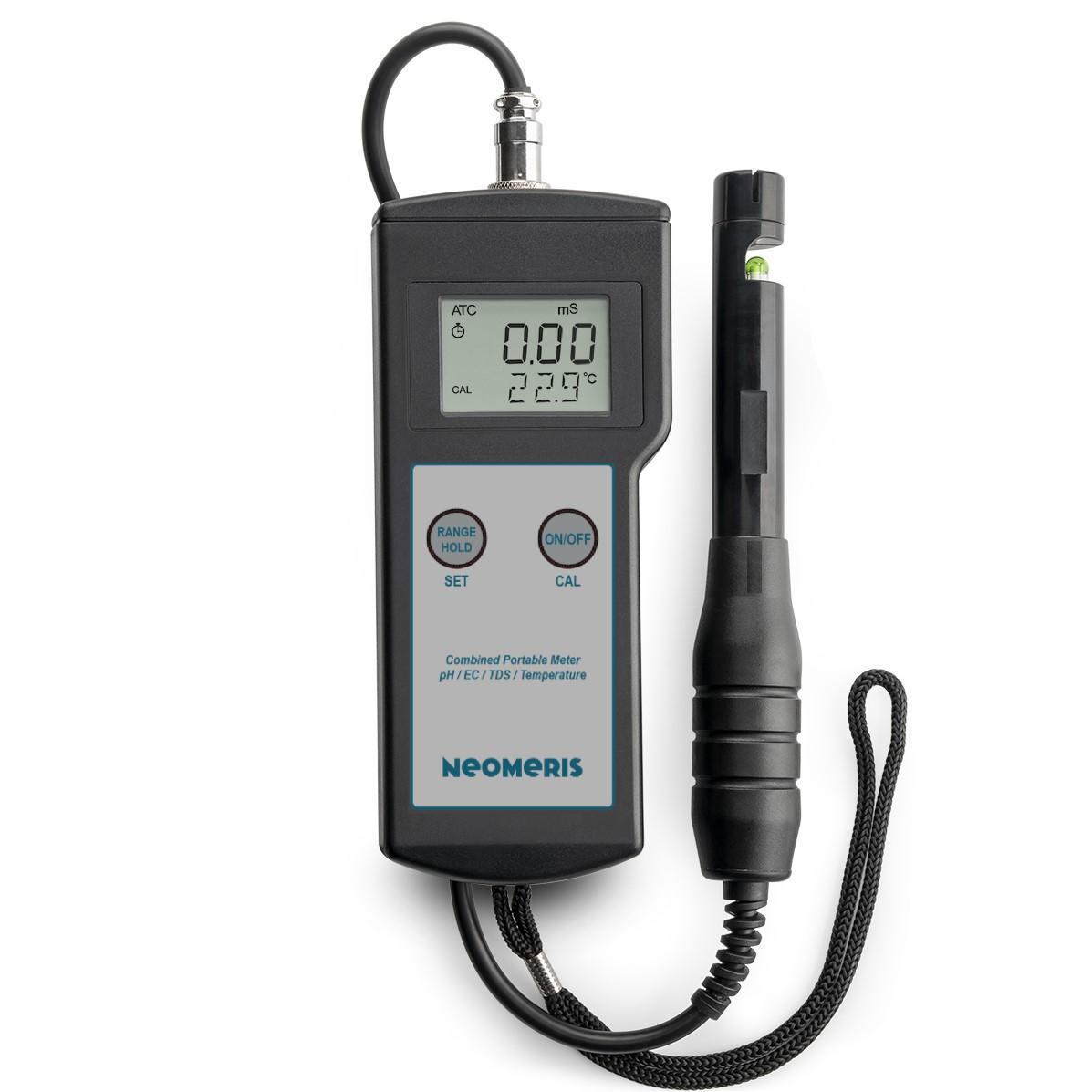 Neomeris Kombitestgerät pH/EC/TDS/Temperatur High Range