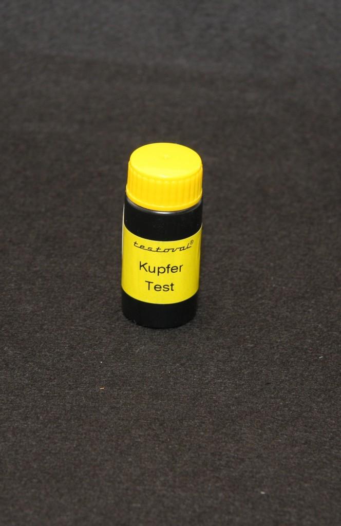 Kupfer-Reagenzien Testoval