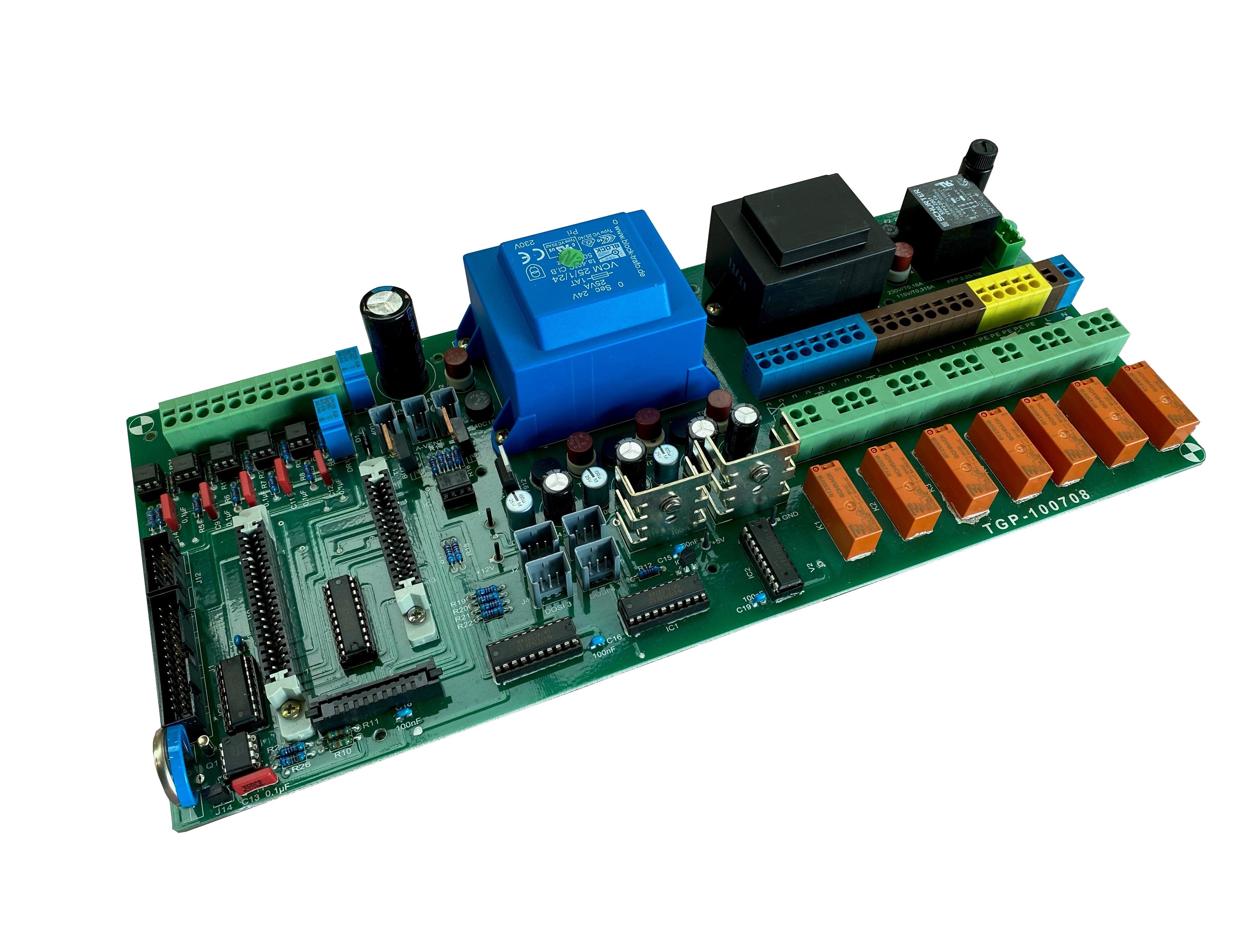 Grundplatine T2000, 230V, kpl.