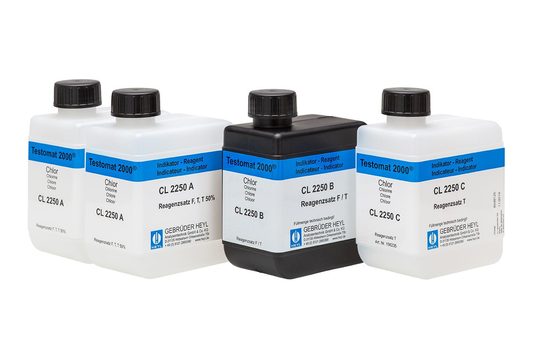 Testomat 2000® chlorine reagent set T (total chlorine)