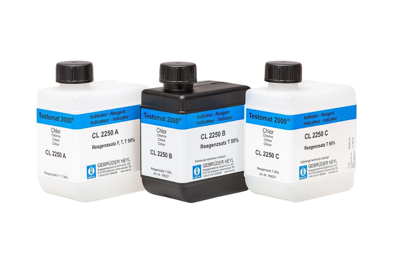 Testomat 2000® Chlorine Reagent Set T 50 % (total chlorine)