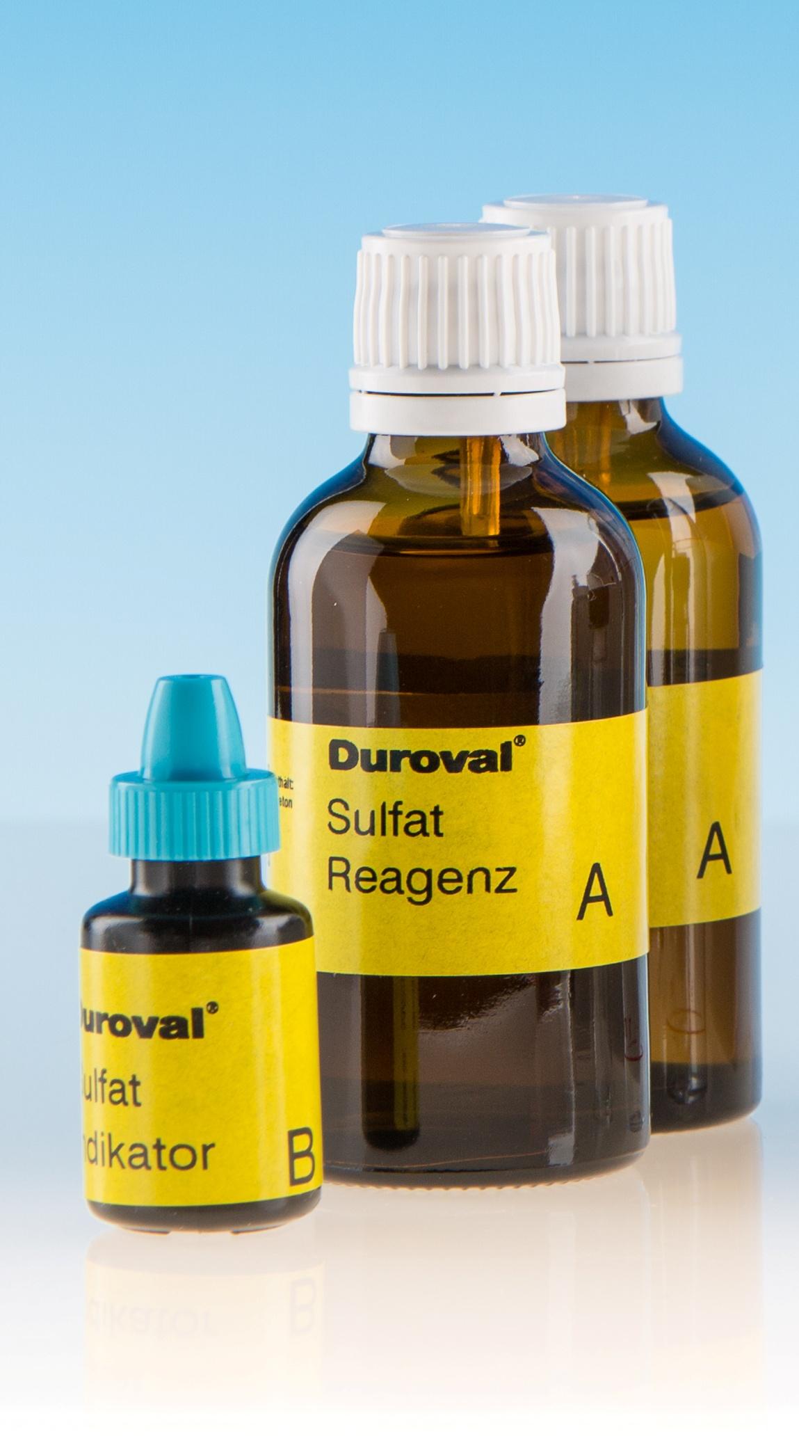 DUROVAL® Sulfat SO4 Reagenz A Nachfüllpackung