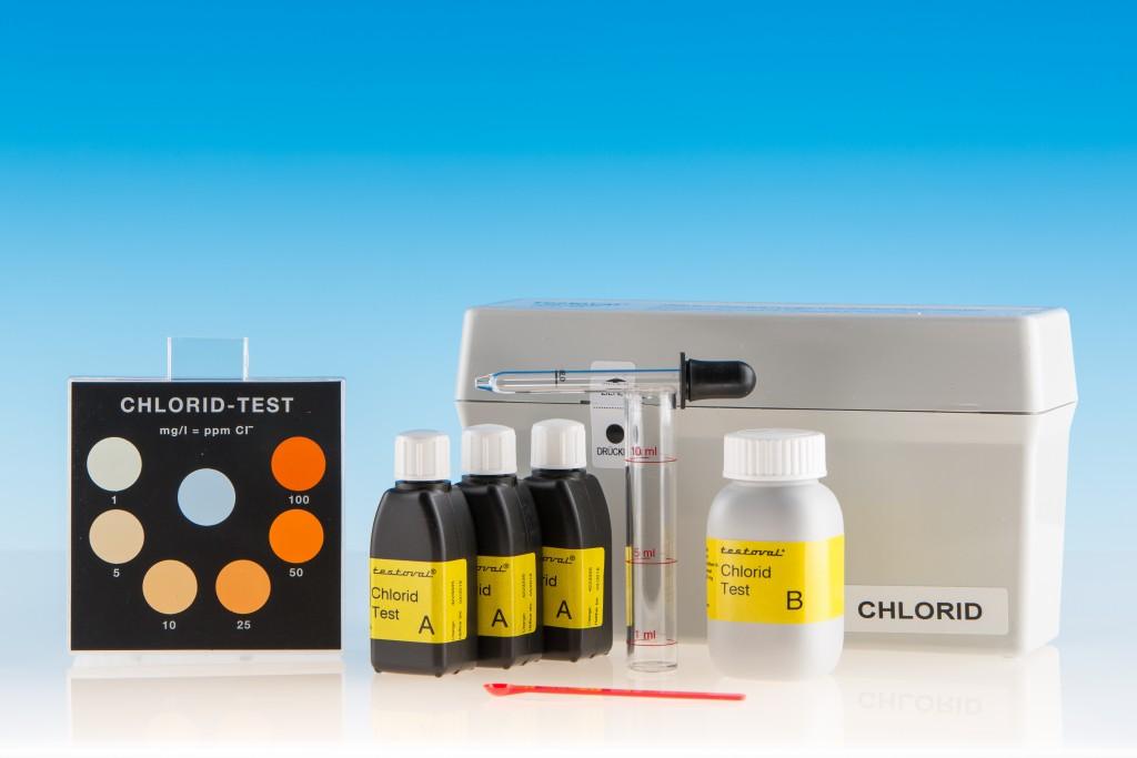 Testoval Chlorid Testbesteck