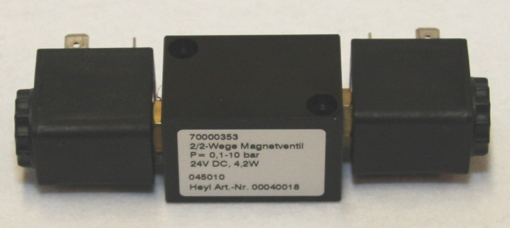 Magnetventil, 2/2-Wege für T2000
