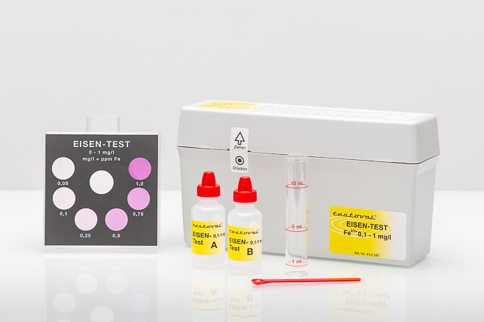Testoval® Iron II+III dissolved 0-1mg/l kit