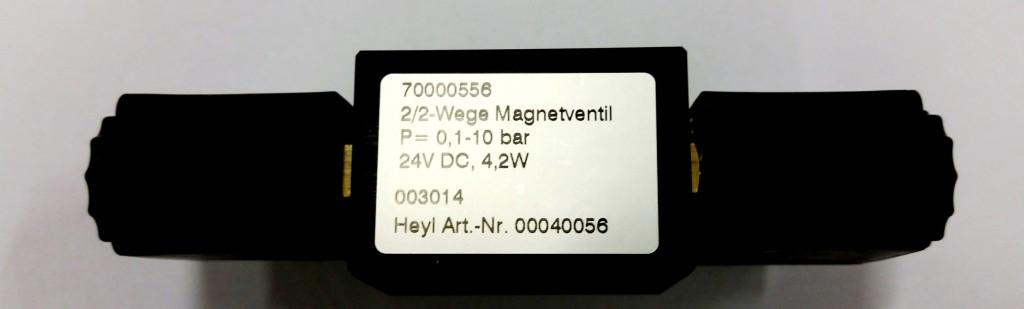 Magnetventil 2/2-Wege f. Testomat ECO