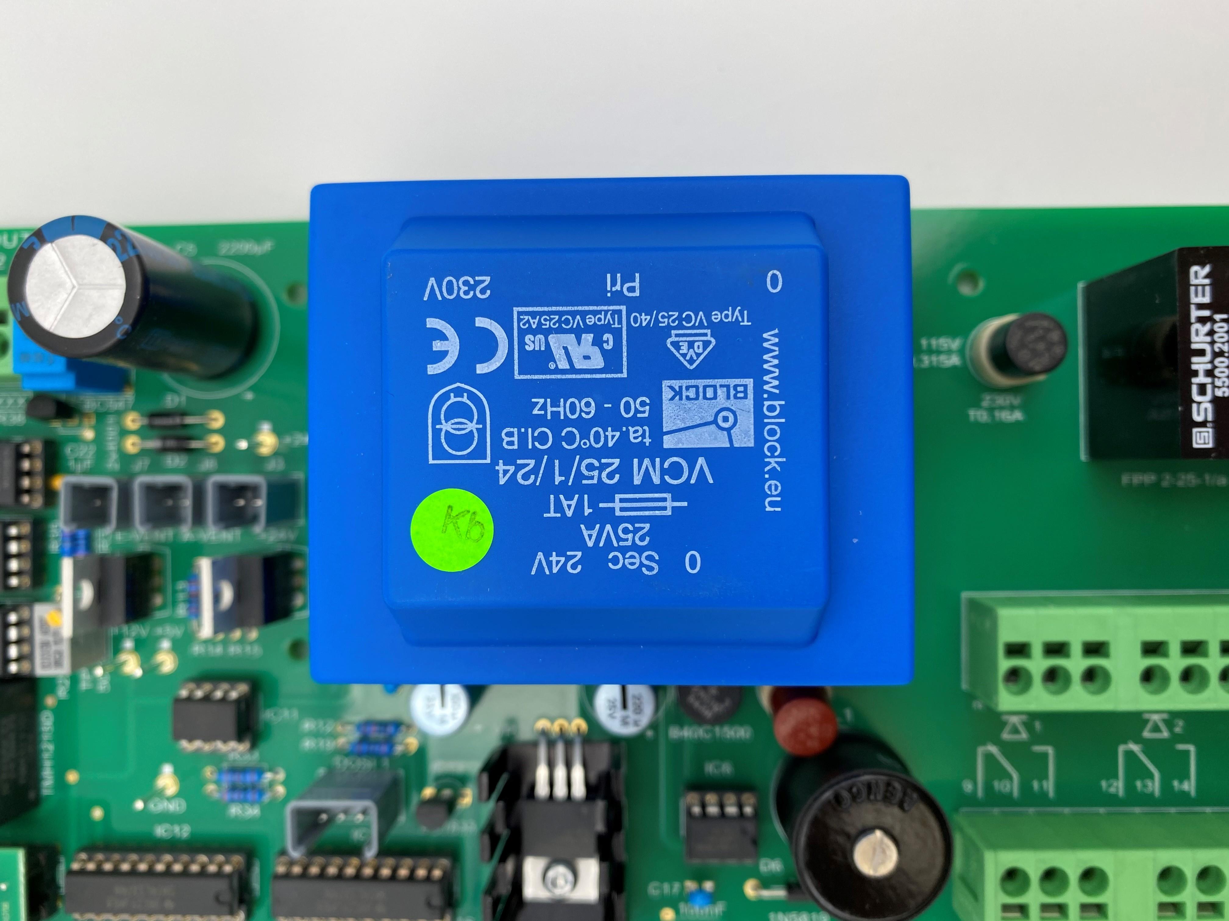 Grundpl. T-ECO kpl. 230V