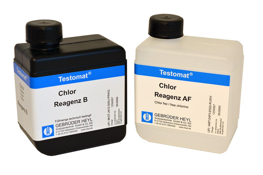 Testomat LAB CL chlorine reagent set F (free chlorine)