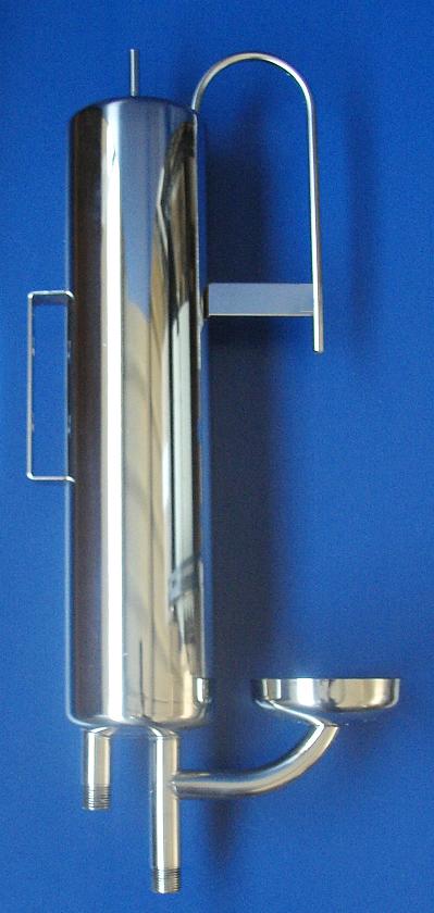 Kühler bis 120°C für manuelle Probenentnahme
