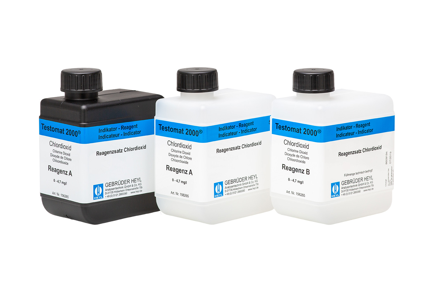 Testomat 2000® ClO2 Reagents A and B