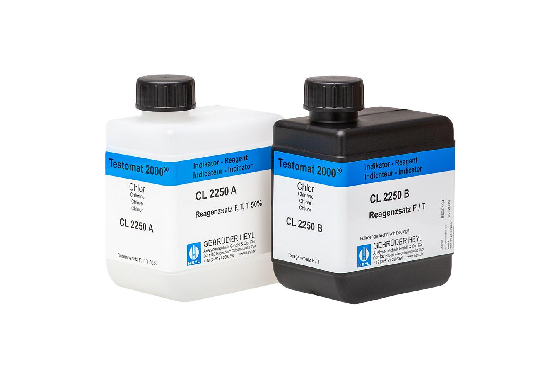 Testomat 2000® Chlor Reagenzsatz F  50% (Freies Chlor)