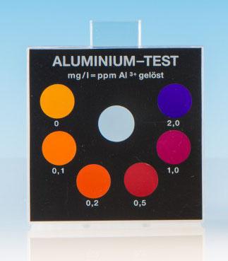 Aluminium - Farbvergleichsgerät Testoval
