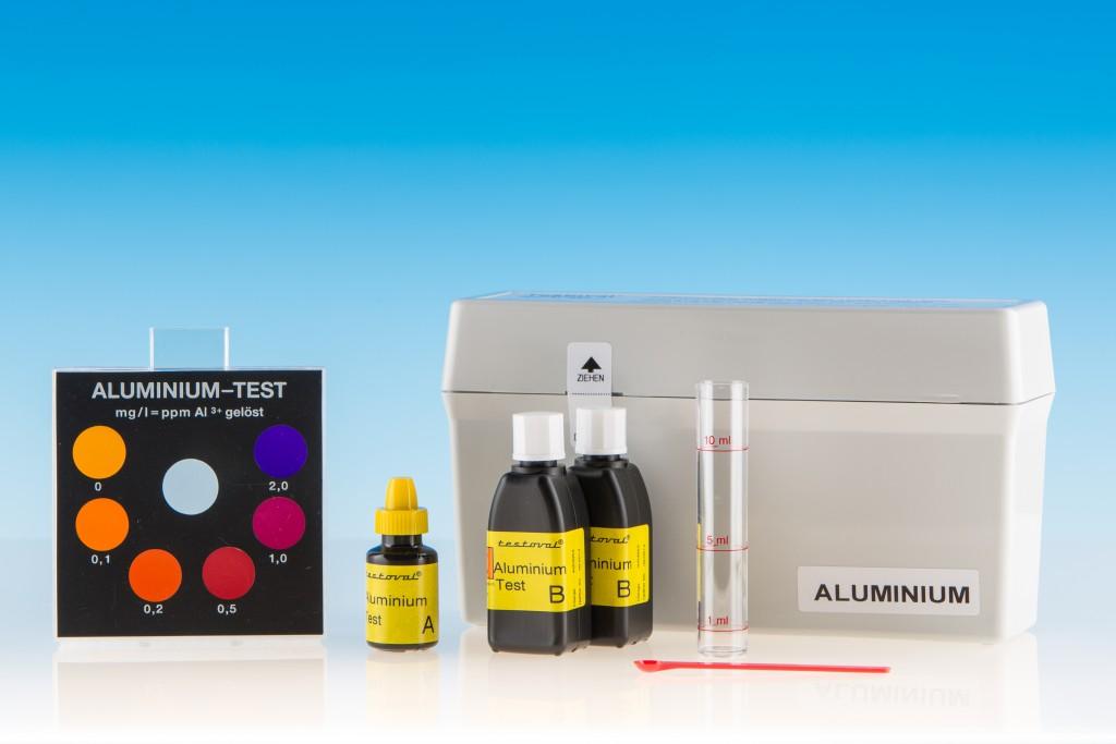 Aluminium-Reagenzien Testoval