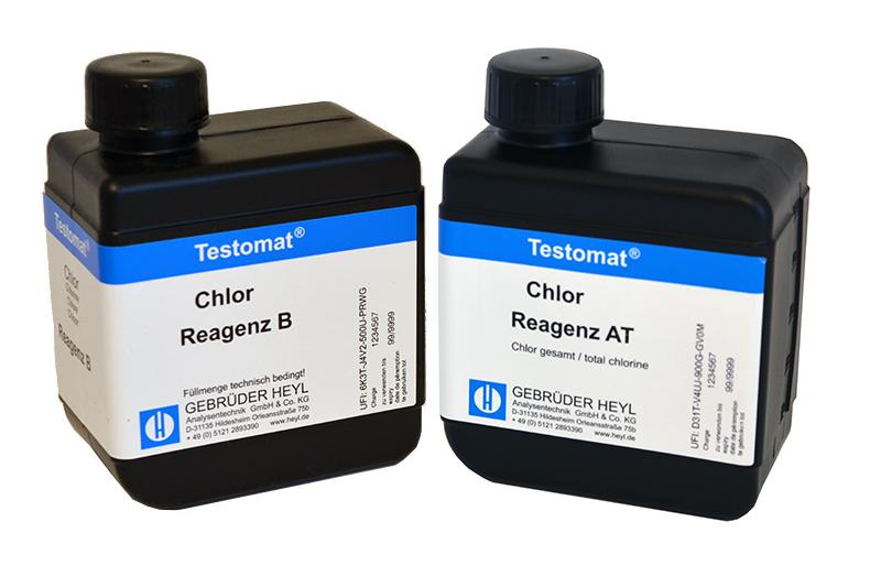 Testomat LAB CL Chlor Reagenzsatz T (gesamt Chlor)