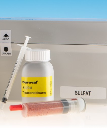 DUROVAL® Sulfat SO4 Titrationslösung C Nachfüllpackung