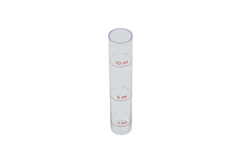 Measuring tubes 1 + 5 + 10 ml