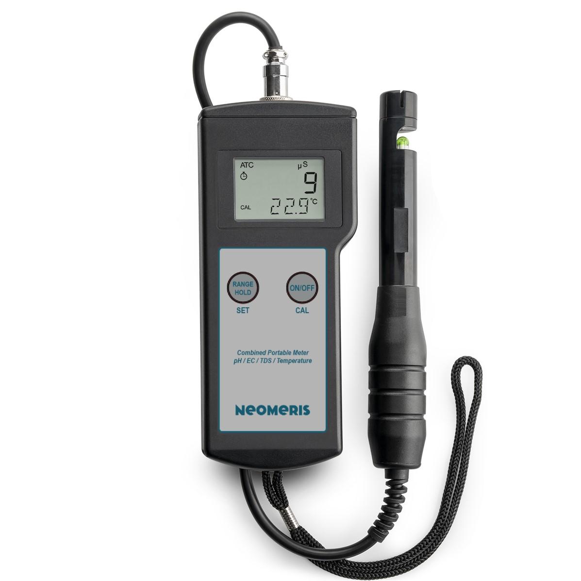 Neomeris Kombitestgerät pH/EC/TDS/Temperatur