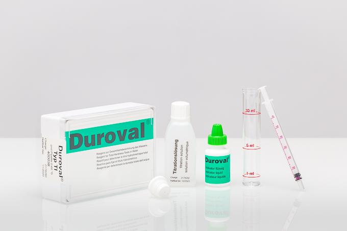 DUROVAL® TI with pipette 0 – 60 °f