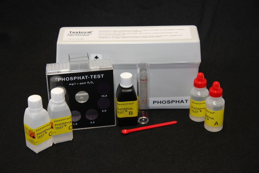 Testoval Phosphat Testbesteck