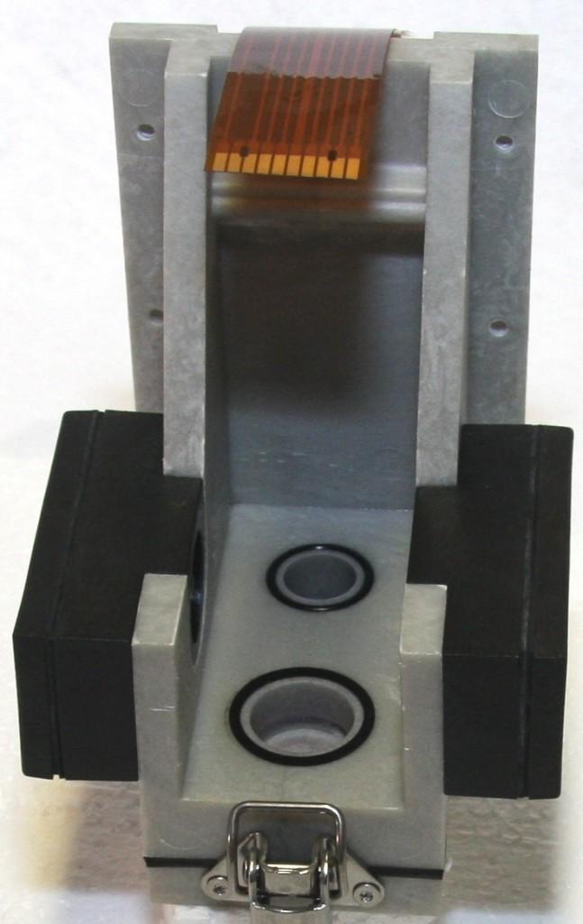 Messkammeraufnahme ohne Magnetventil